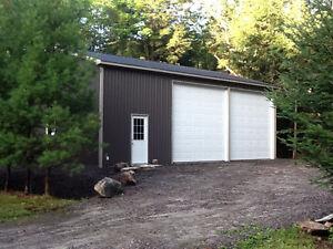 Steel Pole Barns, Garages, Workshops Kawartha Lakes Peterborough Area image 4