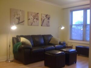 Near Yonge and Finch, furnished 2 bedroom apartment