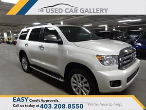 2013 Toyota Sequoia Platinum 5.7L 6A Everyone Approved