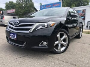 2013 Toyota Venza 4dr Wgn  AWD limited Navi back up pano roof