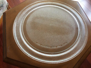 "14"" Glass Revolving Plate for Microwave"