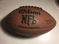 New Wilson NFL Football