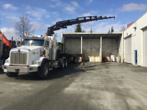 Hiab crane truck for sale