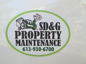 Lawn Maintenance & Spring Cleanup Cornwall Ontario image 1