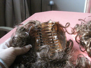 2- synthetic curly hair pieces (new)-STRATHROY London Ontario image 3