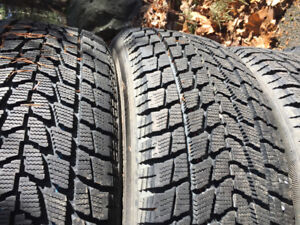 Toyo winter tires used several times