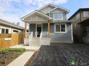 2015 Edmonton Infill House with Legal Garage Suite