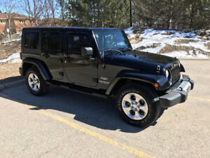 2008 Jeep Wrangler Unlimited Sahara SUV, Crossover