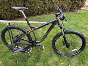 Marin Rocky Ridge 7.4 Hard-tail aggressive trail bike
