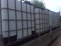 IBC 1000L water containers WANTED!