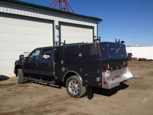 F-350 Service Truck with Dematco Body & VMAC Compressor