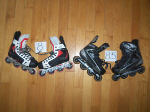 Patins a roues alignés rollerblade hockey