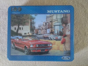 Anniversary Ford puzzles in tins