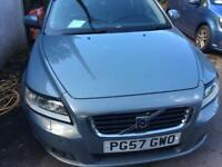 VOLVO V50 2.4i Geartronic 2007.5MY SE only 63K one previous owner