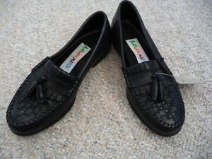 Brand New Black Dress Shoes With Tassels - Child's Size 11 or 12 Kitchener / Waterloo Kitchener Area image 2