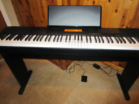 Casio Piano CDP-230R w/t Stand, book,  manual, pedal (88 keys)