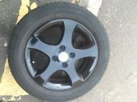 """15"""" 4 stud alloy wheels"""