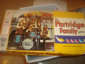 vintage 1971 the Partridge Family Board Game