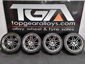 """19"""" GENUINE AUDI LE MANS Alloy Wheels & Tyres 4F0601025DG"""