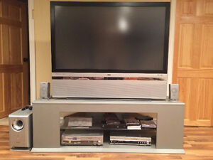 """50"""" DLP Projection TV and Stand"""