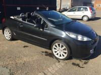 """PEUGEOT 207 CC 1.6HDi GT CONVERTIBLE [PRICED 2 CLEAR]MOT..17""""ALLOYS..DRIVES GOOD"""