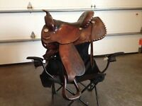 "15"" used western saddle"