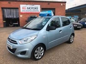 2011 Hyundai i10 1.2 ( 85bhp ) Classic, Silver, **ANY PX WELCOME**