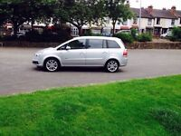 57 / Vauxhall Zafira Design CDTI /1.9 Diesel /150 HP /12 Month MOT /HPI Clear Excellent Condition