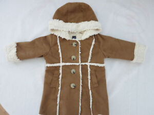 Gap Fall Hooded Jacket (Girl 12 -18 months)