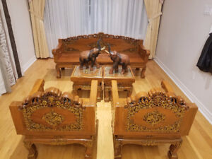 Stunning Solid Wood Asian Furniture!