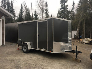 2017 Look 6'X12' V nose enclosed trailer