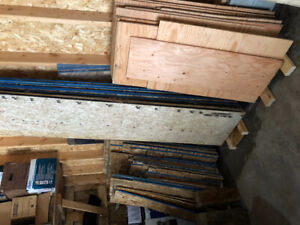 Plywood and chipboard