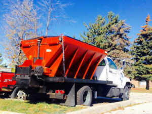 1997 GMC Dump and salter truck