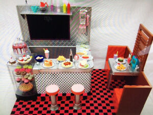 """OUR GENERATION Dolls """"RETRO DINER"""" in MINT Condition!"""