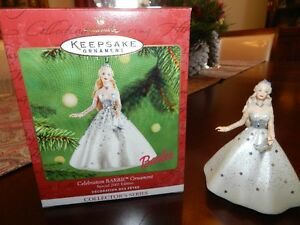 Celebration 2001 Keepsake Barbie Ornament
