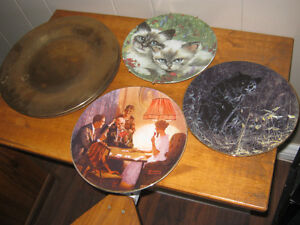 Brass charger plates and collector plates
