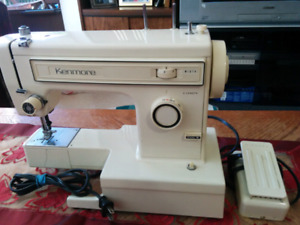 Kenmore sewing machine for sale,  working condition,  model: 158