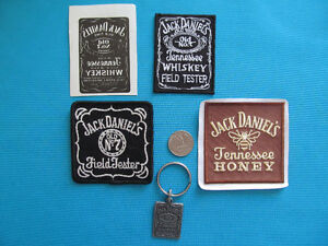 PATCH ECUSSON PORTE CLEF JACK DANIEL'S WHISKEY