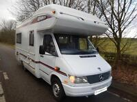 Compass Commodore 4 Berth U Shape Lounge 2.9 Mercedes Motorhome For Sale