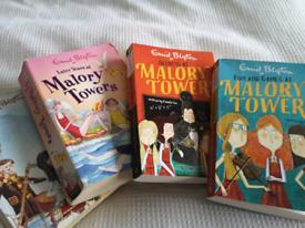 Enid Blyton Malory Towers 8 books