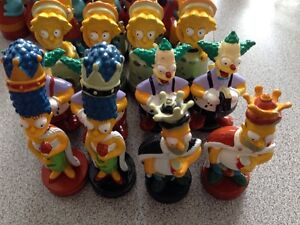 2002 Simpsons chess pieces Gatineau Ottawa / Gatineau Area image 2