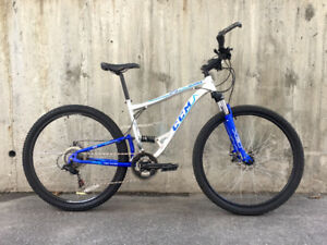 MTB 29er full suspension w/disc brakes, new chain, upgrades!