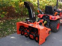 """Wanted to buy, 48"""" to 54"""" snowblower attachment"""