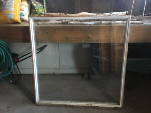 Free 4x4 Double Paned Wooden Window