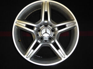 "MAGS MERCEDES AMG 17"" 5 BRANCHES SILVER  COULEUR ARGENT/ SILVER"