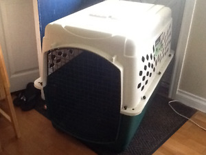 Large new dog crate