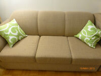 Deux sofa avec 3 place (coin et lit) Braul et Martineau (2010)