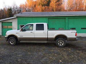 2004 Ford F-250 cuir Camionnette