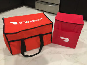 DoorDash Bags (BRAND NEW) Food Delivery Courier Skip the Dishes