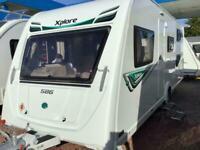Elddis Xplore 586, Year 2017, Fixed Bunk Beds